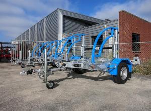10 nieuwe haspelwagens geleverd aan Collé